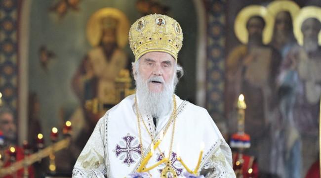 Саопштење патријарха Иринеја поводом геј параде