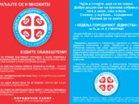 Позив на Недељу породичног јединства – у Београду од 10. до 16. септембра 2016.год.